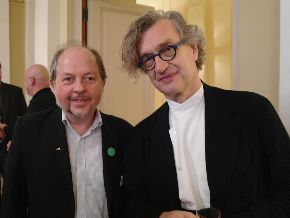Photo of Wim Wenders & his  Brother  Klaus Wenders